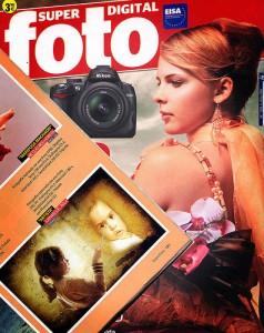 Foto en la revista Super Foto Digital